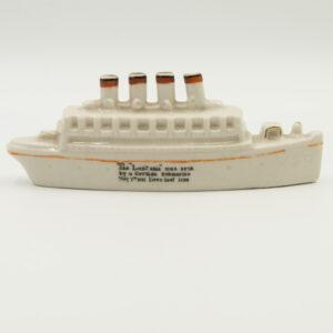 Carltonware RMS Lusitania Ship
