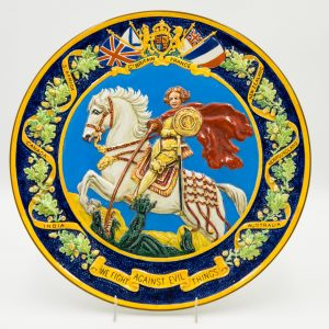 St George and Dragon Plaque