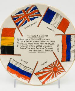 WWI Plate To Cook A German