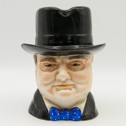 Winston Churchill Homburg Toby Jug