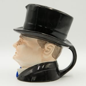 Winston Churchill Homburg Toby Jug