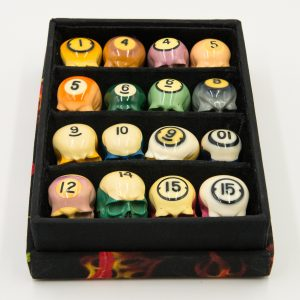 Billiard Skull Pool Ball Set