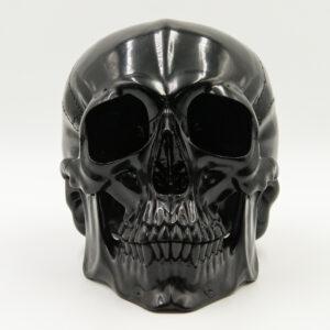 Jet Black Skull