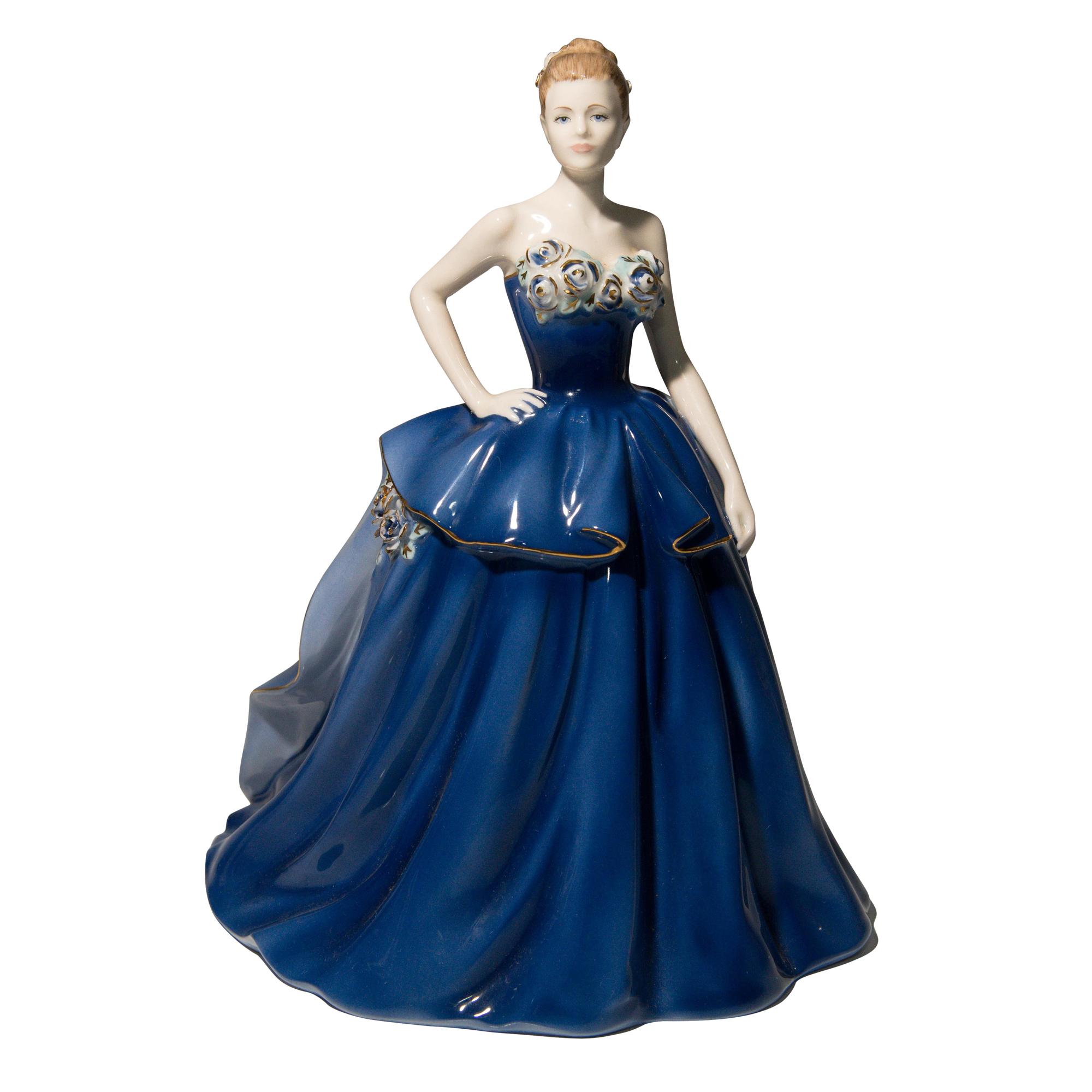 Jubilee Ball CW585 Coalport Figurine