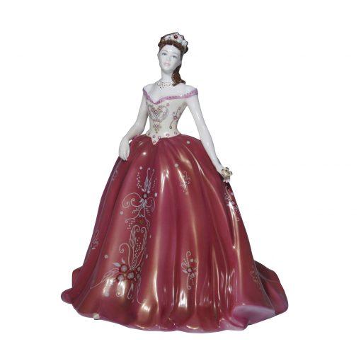 Valentine Ball CW675 Coalport Figurine