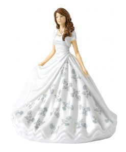 April (Diamond) HN5900 Royal Doulton Figurine
