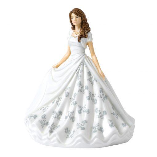 April (Diamond) HN5900 Royal Doulton Figurine