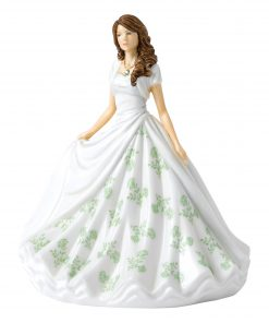 August (Peridot) HN5904 Royal Doulton Figurine