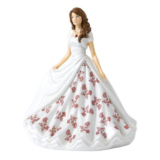 January (Garnet) HN5897 Royal Doulton Figurine