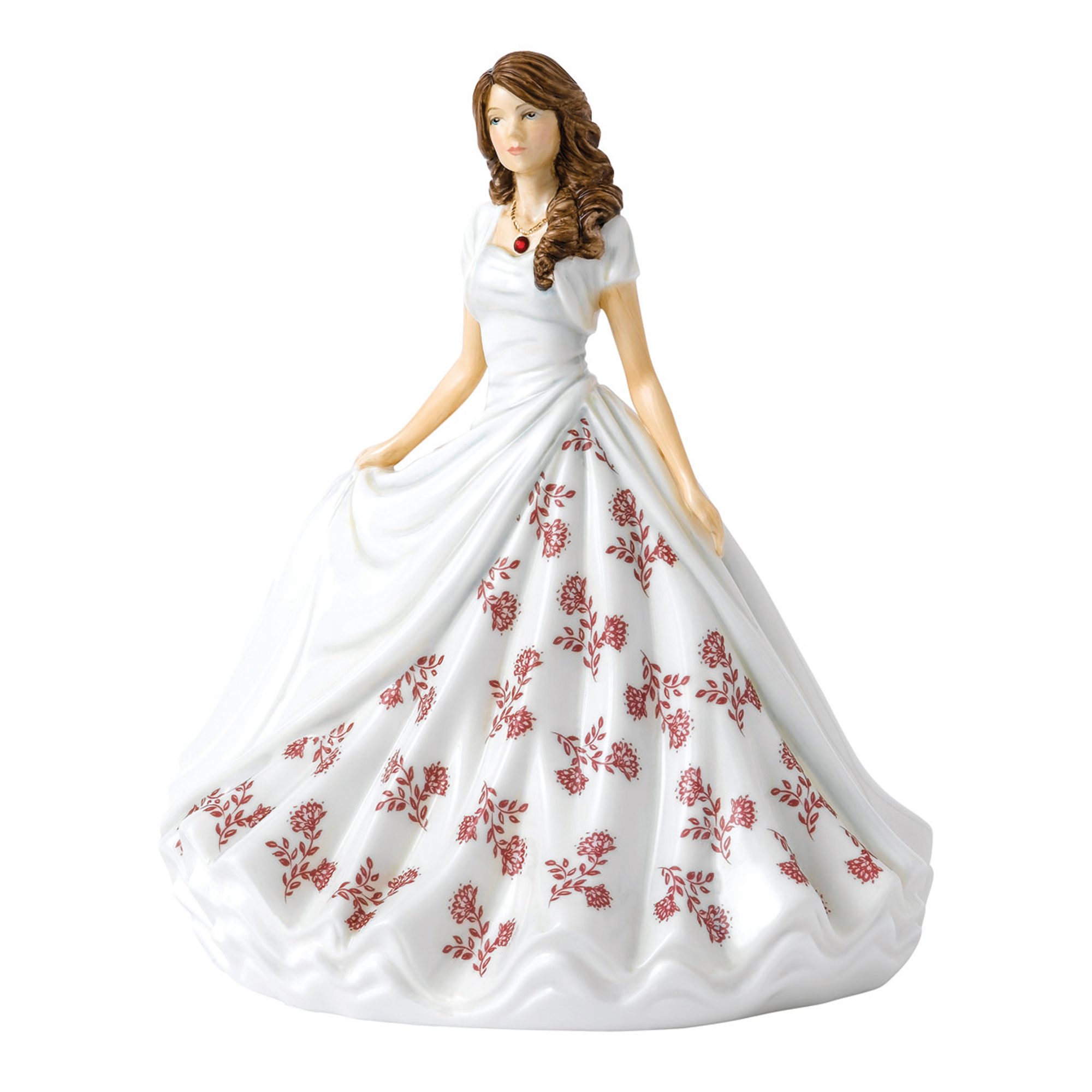 January (Garnet) HN5897 Royal Doulton Figurine