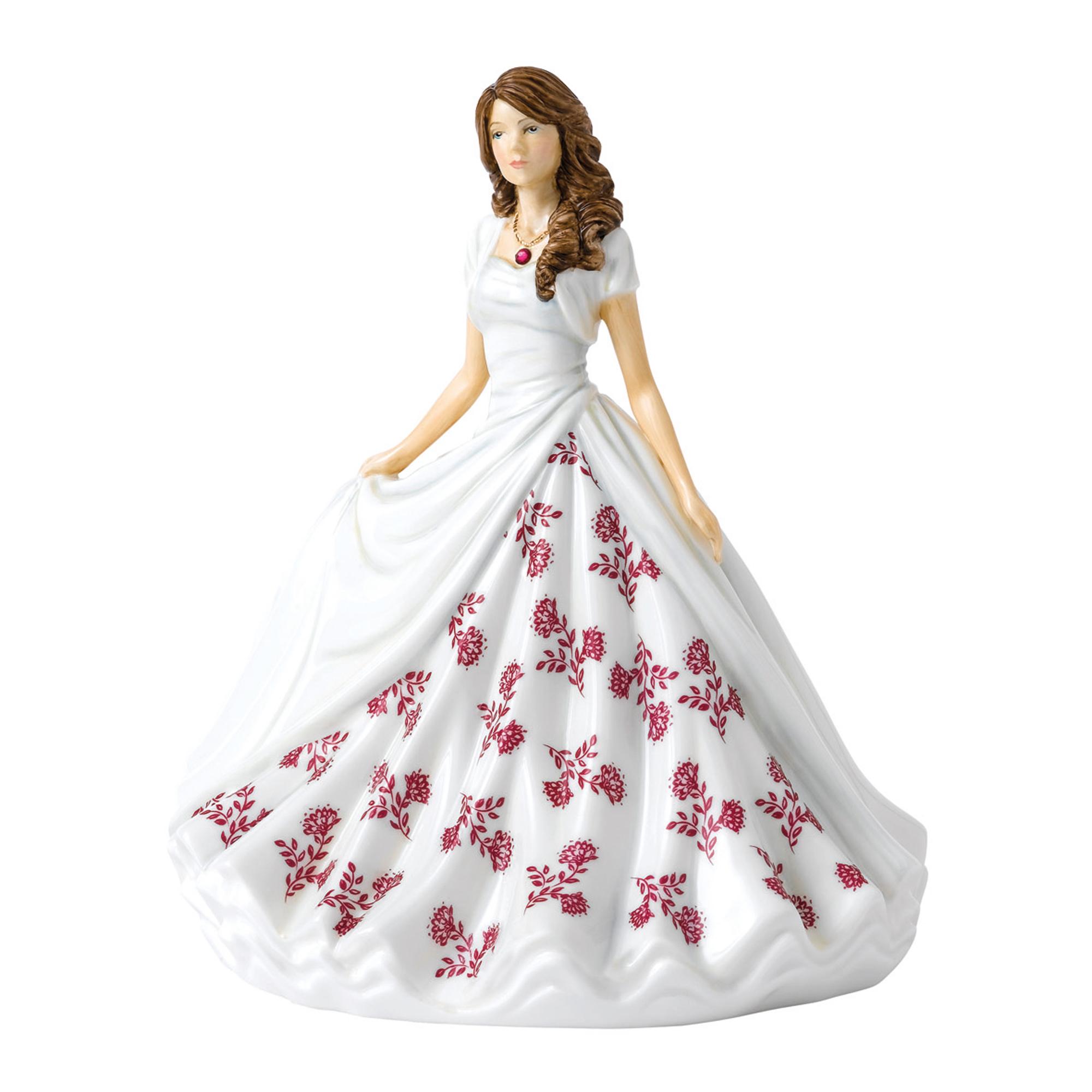 July (Ruby) HN5903 Royal Doulton Figurine