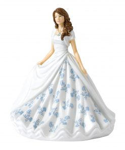March (Aquamarine) HN5899 Royal Doulton Figurine