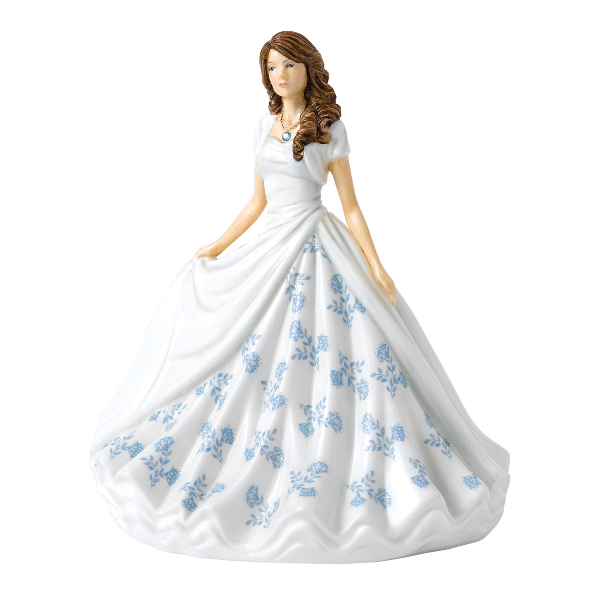 March (Aquamarine) HN5899 Royal Doulton Figurine