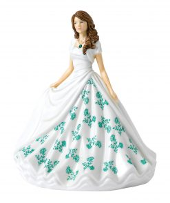May (Emerald) HN5901 Royal Doulton Figurine
