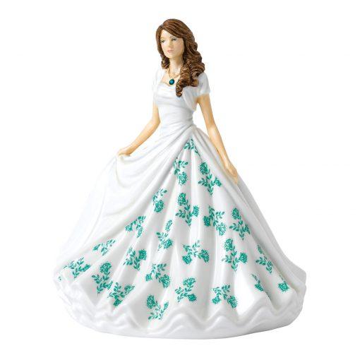 May (Emerald) HN5901 Royal Doulton Figurine
