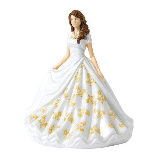 November (Topaz) HN5907 Royal Doulton Figurine