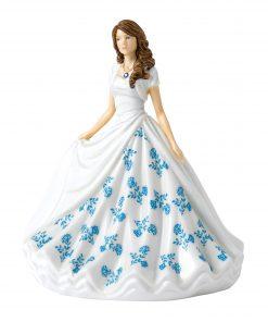September (Sapphire) HN5905 Royal Doulton Figurine