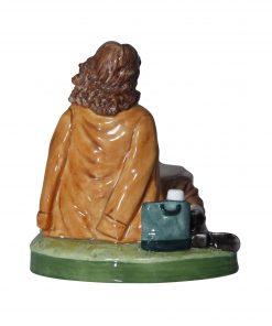 Woman Having a Picnic (Prototype)  Royal Doulton Figurine