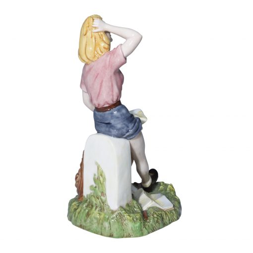Woman Hiker (Prototype)  Royal Doulton Figurine