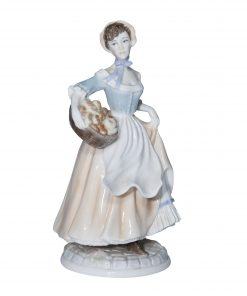 Bakers Wife RW4583 Royal Worcester Figurine