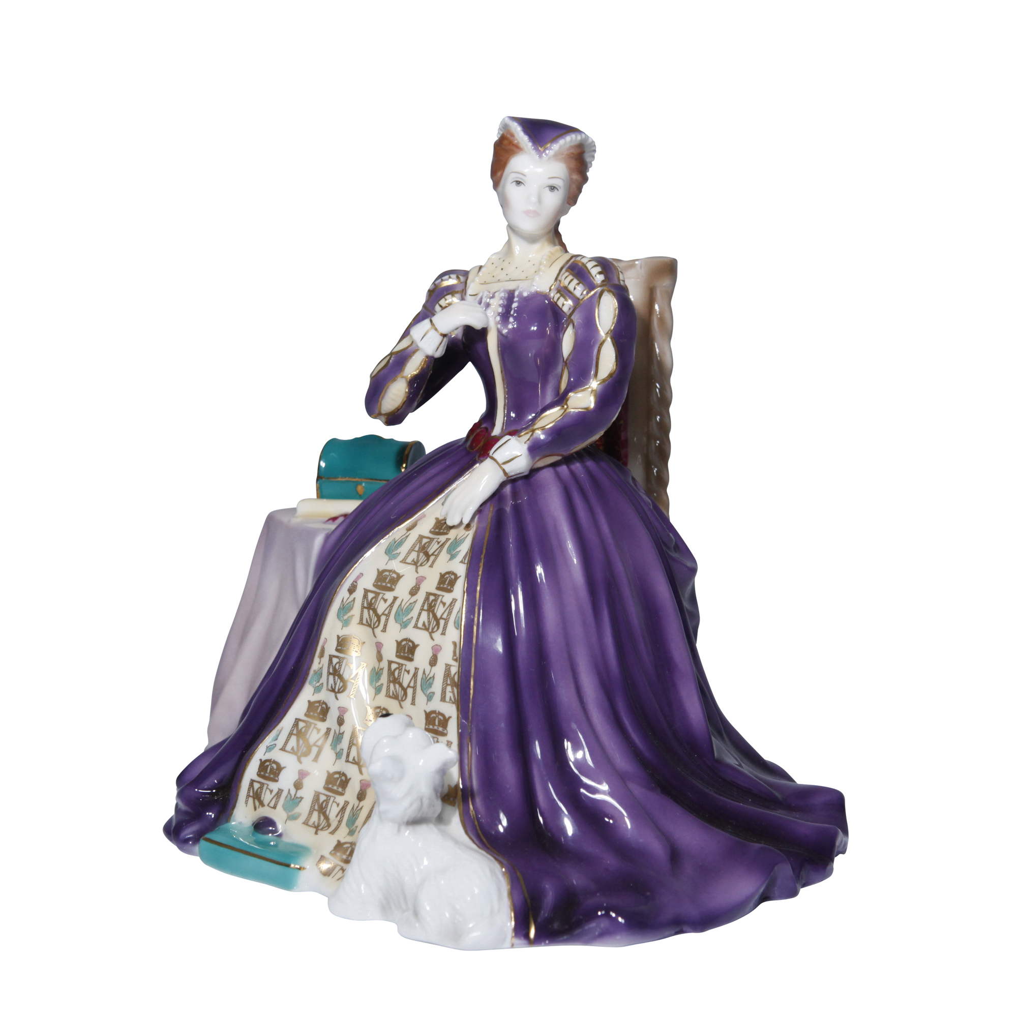 Mary Queen of Scots CW374 Royal Worcester Figurine