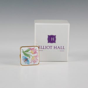 Elliot Hall Enamel Square Box Bugs Life
