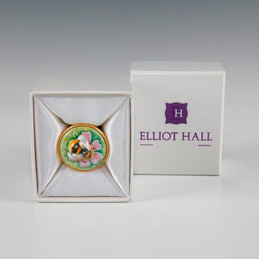 Elliot Hall Enamel Box Bumble Bee