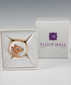 Elliot Hall Enamel Box Chiipmunk