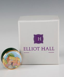Elliot Hall Enamel Box Cottage