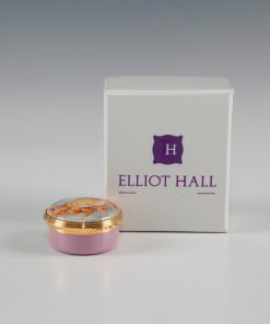 Elliot Hall Enamel Box Crab