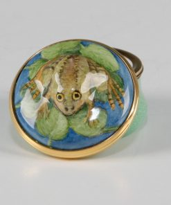 Elliot Hall Enamel Box Frog