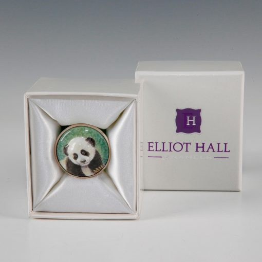 Elliot Hall Enamel Box Panda