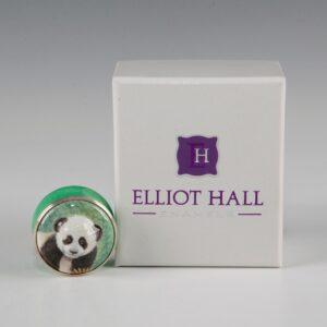 Elliot Hall Enamel Box Panda