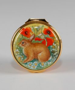 Elliot Hall Enamel Box Poppyfields