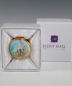 Elliot Hall Enamel Box Stephensons Rocket
