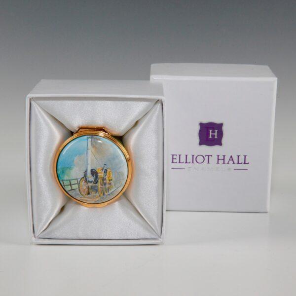 Elliot Hall Enamel Box Stephensons Rocket