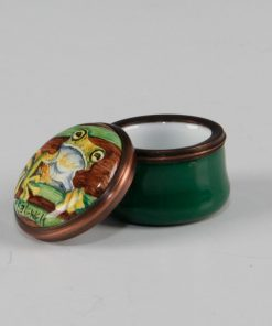 Elliot Hall Enamel Mini Box Tree Frog