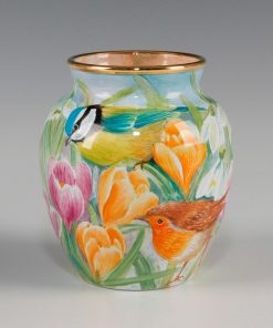 Elliot Hall Enamel Vase Winters Tale